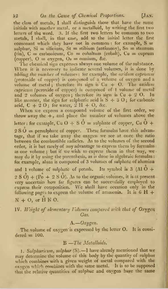 berzelius essay on the cause of chemical proportions Berzelius published his system of notation in paper with the explanatory title essay on the cause of chemical proportions,  berzelius, jacob (1813-14): essay on.