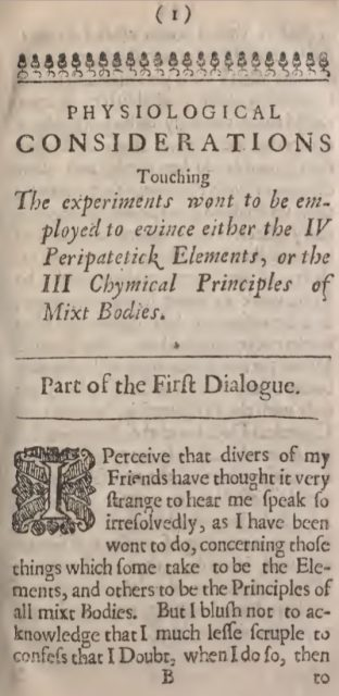 Captura del comienzo de las llamadas «Consideraciones».