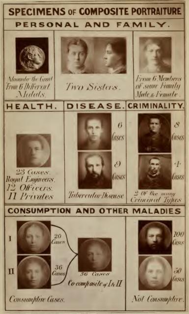 Composición de retratos Galton